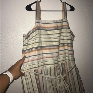 Cute striped jumpsuit